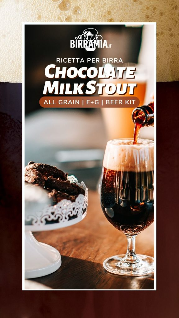 Chocolate Milk Stout Ricetta