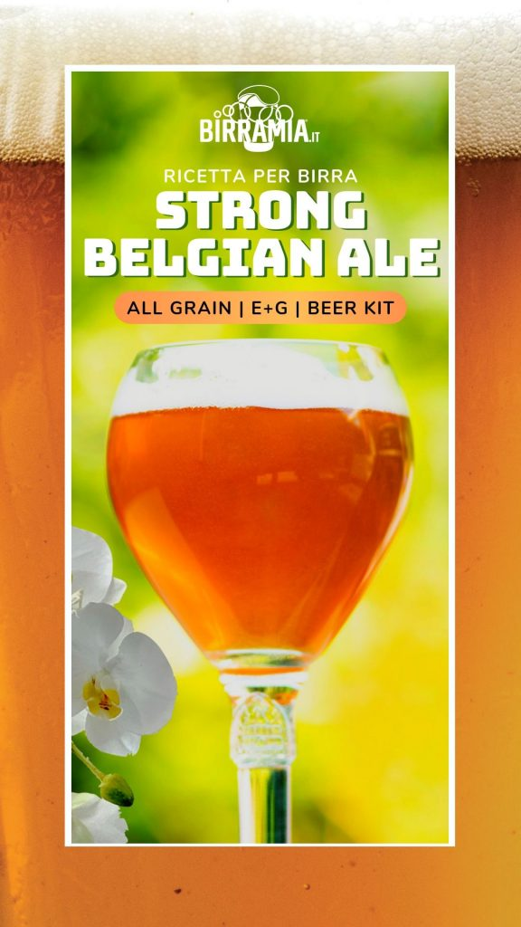 Strong Belgian Ale Ricetta