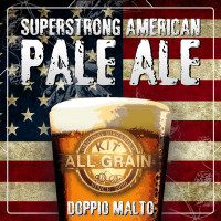 Kit Birra all grain Superstrong American Pale Ale(APA) per 18 litri-Doppio Malto