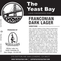 Franconian Dark Lager - lievito liquido The Yeast Bay