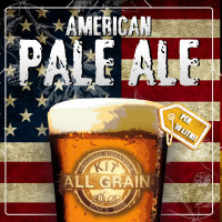 Kit Birra all grain American Pale Ale Nano per 10 litri
