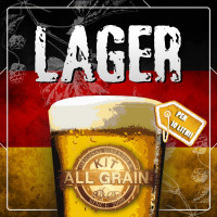 Kit Birra all grain Lager Nano per 10 litri