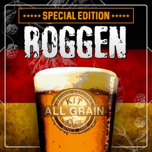 Kit birra all grain Roggen - Edizione speciale Giornata Nazionale dell'Homebrewing