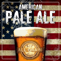 Kit American Pale Ale (APA) all grain for 23 litres
