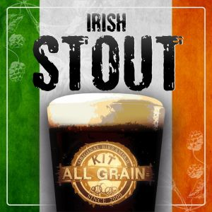 Kit all grain Irish Stout for 23 litres