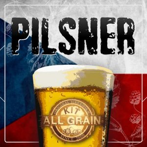 Kit all grain Pilsner for 23 litres