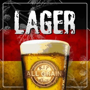 Kit Lager all grain for 23 litres