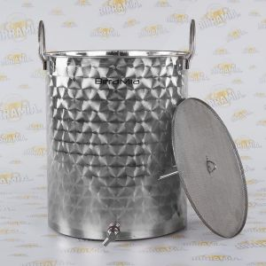 Stainless Steel Lauter Bin by Birramia (capacity: 66 litres)