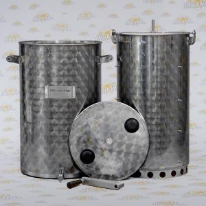 Mash Tun for Beer (capacity: 60 litres) with filter and manual mixer