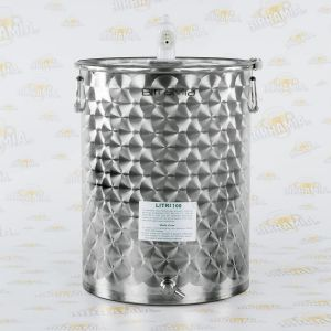Stainless Steel Fermenter 100 litres