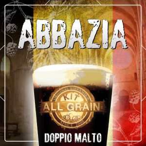 Kit Abbazia (Abbey) all grain for 18 litres - Double Malt
