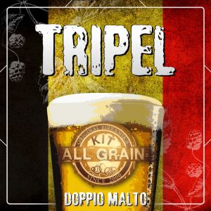 Kit Tripel all grain for 19 litres - Double Malt