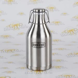 Beer Growler - Thermal Bottle for Beer - 2 L