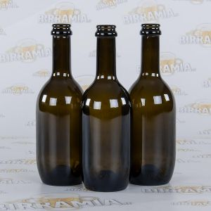 12 bottles by Birramia® crown cap-suited, capacity 0,50 L