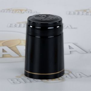 Black shrink-wrap seals (100 pieces)