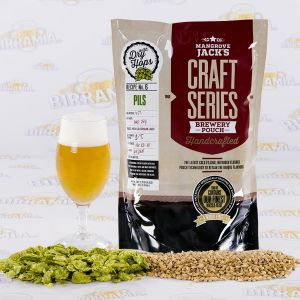 Hopped malt Pilsner with dry hopping- 2,2 kg - Mangrove Jack's