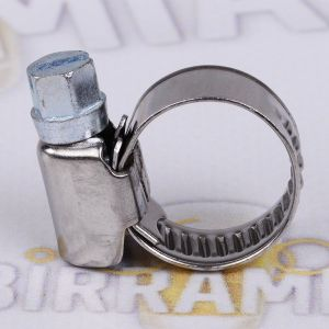 Stainless steel hose clamp 12-20 mm
