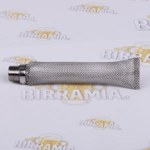 Stainless Steel Bazooka Filter 1/2 inch