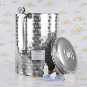 Stainless Steel Tank for Wine - Pneumatic System - 150 L