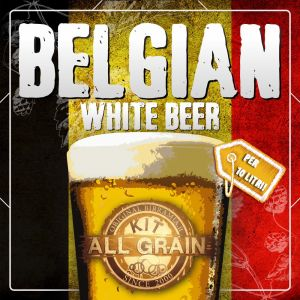 Nano Kit Belgian White Beer all grain for 10 litres