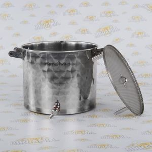 Stainless Steel Lauter Bin by Birramia (capacity: 30 litres)