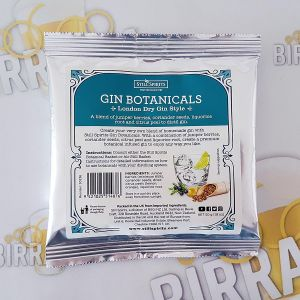 Botanicals per gin - London Dry Gin Style