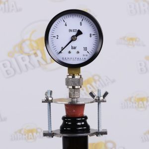 Pressure Gauge for Beer Bottles