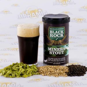 Black Rock Miner's Stout 1,7 kg - Hopped Malt