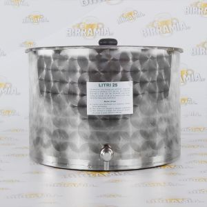 Stainless Steel Tank for Oil - 25 L