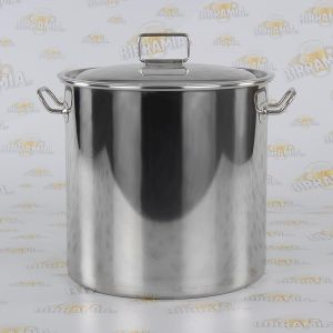 Stainless Steel Brew Pot 33 litres - with lid included