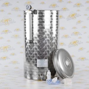Stainless Steel Tank for Wine - Pneumatic System - 100 L