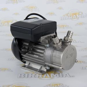Stainless steel electric pump for decanting wort