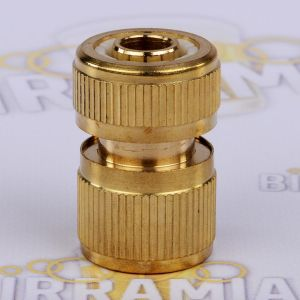 Brass quick female coupling 1/2 inch