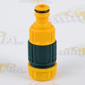 Quick male coupling for 12 mm in diameter hose