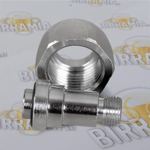 Pipe thread for pressure regulator