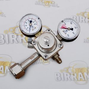 Single-stage CO2 pressure regulator