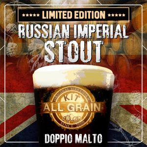 Kit Birra all grain Russian Imperial Stout per 14 litri - EDIZIONE LIMITATA