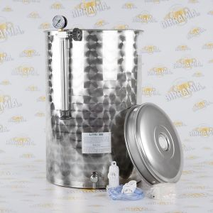 Stainless Steel Tank for Wine - Pneumatic System - 300 L