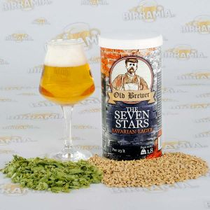 The Seven Stars - Bavarian Lager 1,8 kg - Hopped Malt