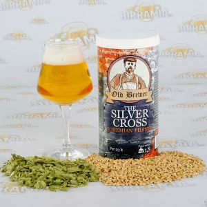 The Silver Cross - Bohemian Pilsner 1,8 kg - Hopped Malt