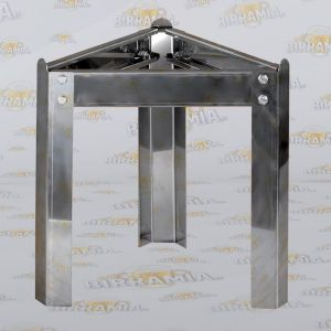 Stainless steel foot stand for 100 L fermenter