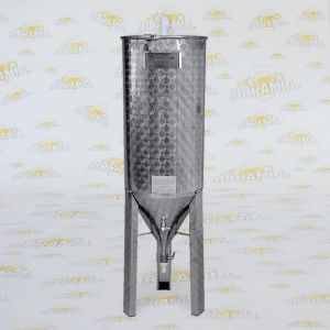 Stainless Steel Conical Beer Fermenter, Professional for Beer (capacity: 114 litres)