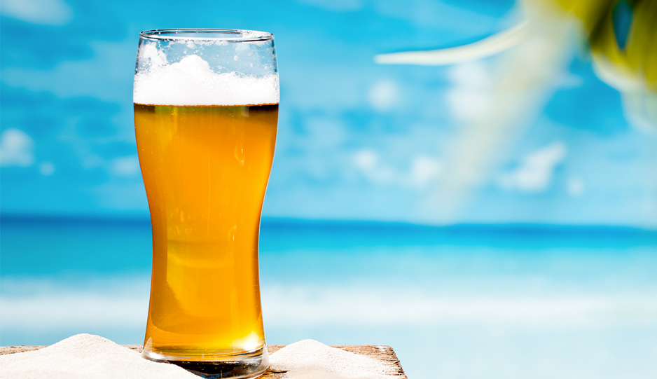 Come fare la birra in casa durante l'estate