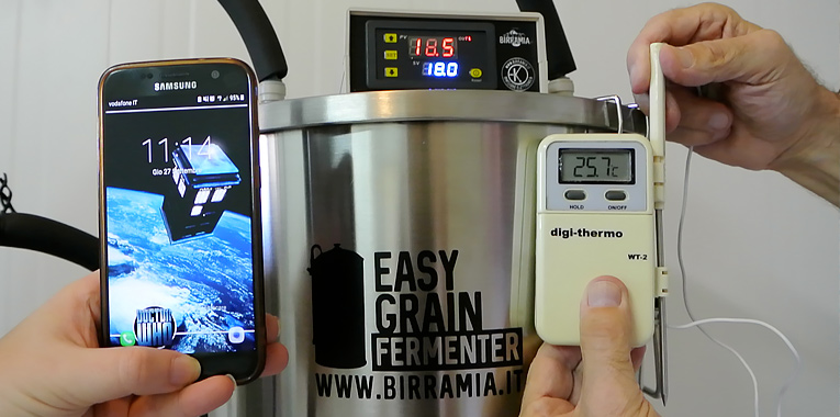 easy grain chiller test